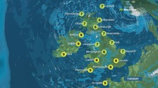 Weather: An icy start but dry and bright for most