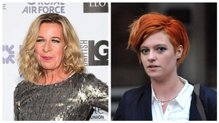 Katie Hopkins (left) and Jack Monroe