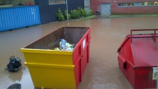 Flooding at Dumfries College