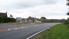 New roundabout for accident blackspot in Norfolk