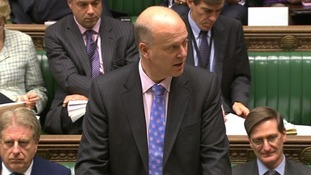 Chris Grayling in the House of Commons