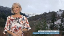 Wales Weather: More wintry weather today!