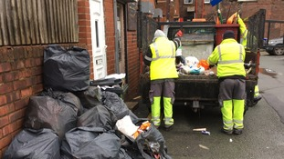 Flytipper made to clean up streets