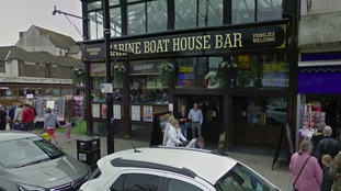 The incident took place in the Marine Boathouse pub