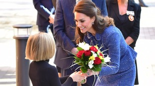Duchess of Cambridge visits children's hospital
