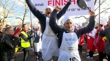 The sweet taste of victory: MP wins charity pancake race