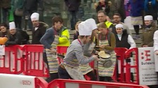 Pancake fun run in aid of EACH
