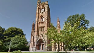 Woman's purse stolen in church