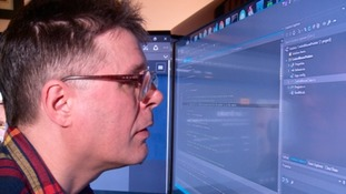 Ian Brooks has been looking for a permanent job in programming or web design for years