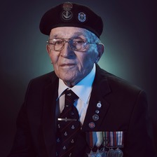 pic of veteran, Geoff Stott
