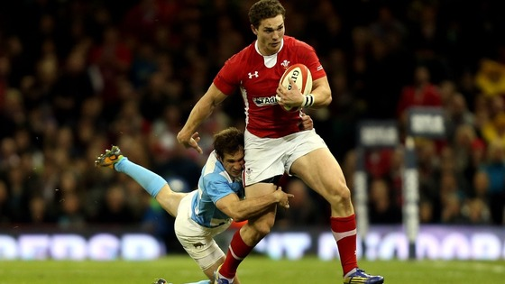 George North against Argentina