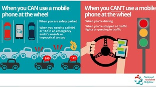 New penalties for drivers using mobile phones at the wheel ...