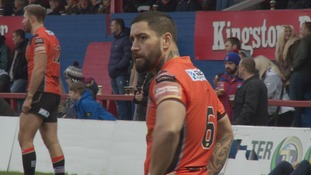 Rangi Chase in action against Wakefield