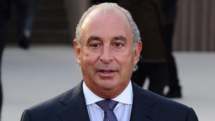 Sir Philip Green made a voluntary contribution of £363 million.