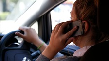 Penalties double for using phone at the wheel