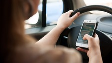 Tough new penalties for phone-using motorists from today