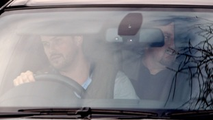 Rafael Benitez arrives at Cobham