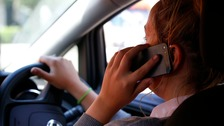 'Three caught in first 10 minutes' of mobile phone crackdown