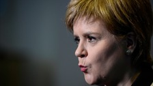 First Minister Nicola Sturgeon says the Scottish Parliament is under attack
