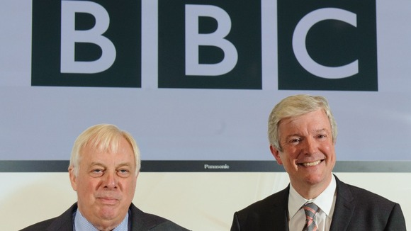 BBC Director General Designate Tony Hall (right) and BBC Trust Chairman Lord Patten, at BBC New Broadcasting House