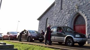 Church drive-through