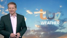 Simon has the latest ITV Meridian weather forecast