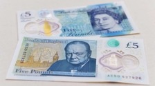 Innovia manufactures a film used in the new polymer £5 bank note