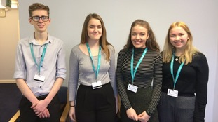 Four students from Cumbria were chosen for this year's 'Dream Placement'