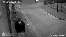 The men police want to trace after a woman was raped in Ipswich