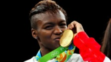 OBE for Nicola Adams