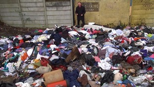Piles of rubbish have been dumped at this site in Manchester.