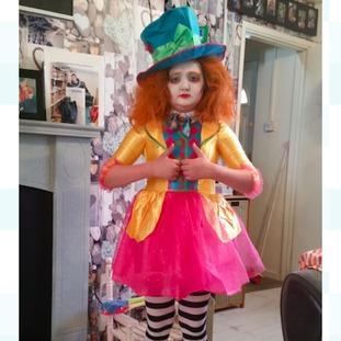 Erin-Anne Pryce aged 10 -Mad Hatter