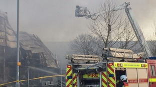 Exeter waste plant fire