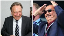 Neil Warnock and Vincent Tan