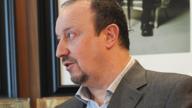 New Chelsea Football Club interim manager Rafa Benitez pictured earlier this year