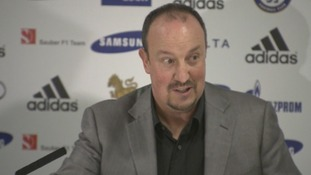 New interim Chelsea Football Club manager Rafa Benitez