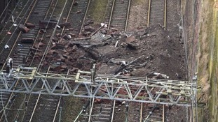Rush-hour train was 'just seconds' from crash disaster