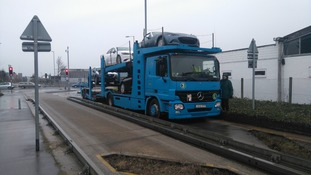 It is not the first time cars or lorries have mistakenly turned onto the Cambridge busway.