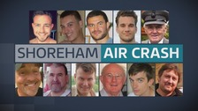 Shoreham airshow disaster victims