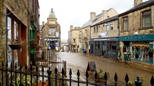A wet day in Haworth