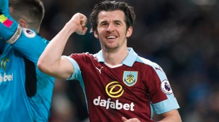 Burnley midfielder Joey Barton