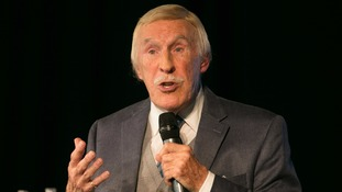 Sir Bruce Forsyth returns home after five days in intensive care with chest infection