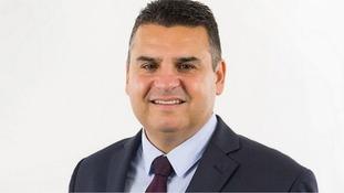 Cardiff Plaid Cymru Councillor Neil McEvoy