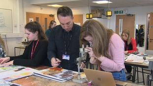 West Suffolk College runs an innovative scheme called the MARS award combining Maths, Art, Religion and Science