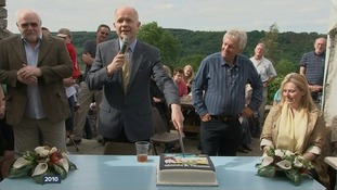 William Hague officially reopened the newly-renovated pub in 2010