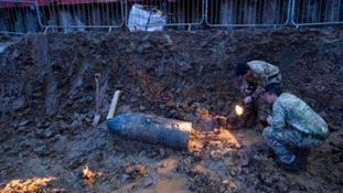 Residents return home after WW2 bomb safely defused