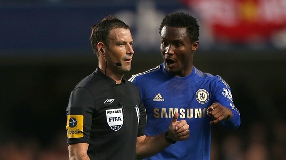 Mark Clattenburg Chelsea