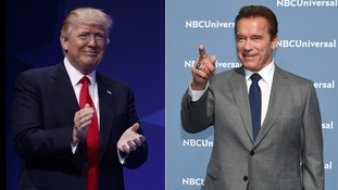 Arnold Schwarzenegger quits Celebrity Apprentice with dig at Donald Trump