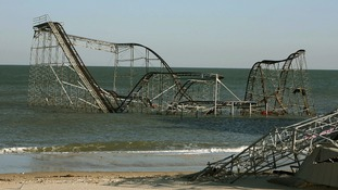 Hurricane Sandy rolelrcoaster