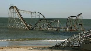 Hurricane Sandy rolelrcoaster